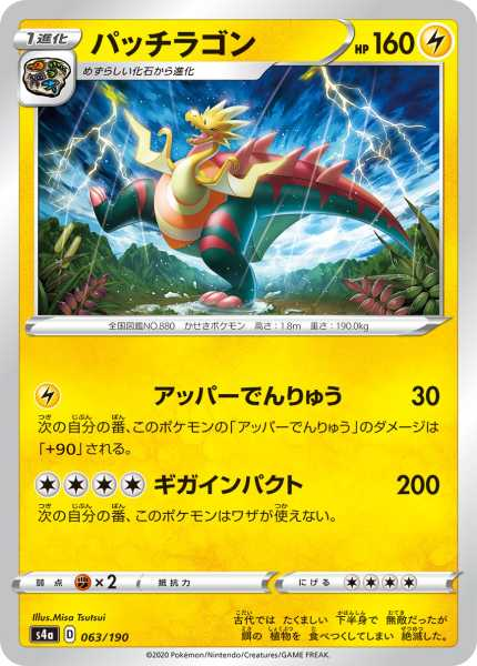 パッチラゴン カード